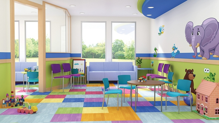 pediatric waiting room furniture