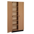 Double Door Laminate Storage Cabinet with Lock, 36003