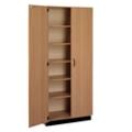 Double Door Laminate Storage Cabinet with Lock, 36003