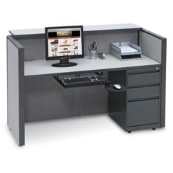 Compact Reception Desk, 20980