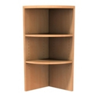 Zeta Bookcase End Cap - Upper, CD05910