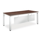 Pacifica Collection Executive Desk with Modesty Panel, 12027