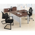Pacifica Four Piece L-Desk Office Set, 82096