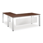 Pacifica Collection L-Desk with Modesty Panel, 12032