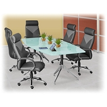 Boat-Shaped Conference Tables