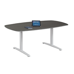 Plus T-Leg Conference Table - 6.5'W, 45013