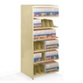 "48""W x 24""D Add-On Double Entry Open Shelving Unit, 31990"