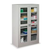 "48""W x 18""D x 78""H Jumbo See-Thru Storage Cabinet, 31462"