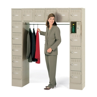 16-Person Locker with Closed Base, 36150