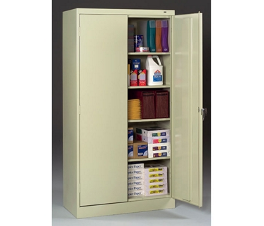 "Six Shelf Storage Cabinet - 72""H, 31776"
