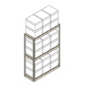 "Heavy-Duty Shelving Unit - 42""W x 15""D x 60""H, 31396"