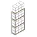 "Heavy-Duty Shelving Unit - 42""W x 15""D x 84""H, 31400"