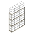 "Heavy-Duty Shelving Unit - 69""W x 15""D x 84""H, 31402"