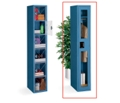 Single Tier Locker with C-Thru Door 3 Wide, 31528