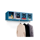Wall Mount 4 Person Locker, CD03983