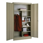 "Wardrobe/Storage Cabinet - 72""H x 36""W x 24""D, CD03923"