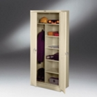 "Deluxe Storage/Wardrobe Cabinet - 78""H, CD03928"