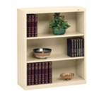 "Three Shelf Steel Bookcase - 13-1/2""D, CD03953"