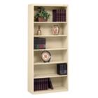 "Six Shelf Steel Bookcase - 13-1/2""D, CD03957"