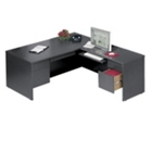 Executive L-Desk with Right Return, 10644