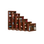 "Traditional Bookcase with Reinforced Shelves - 60""H, 32097"