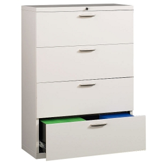 """30"""" Wide Four-Drawer Lateral File with Counterweights, 30575"""