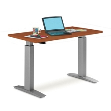 "Trendway 72""W Standing Height Table with Pneumatic Lift, 41569"