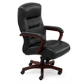 Vista Collection Faux Leather Executive Chair, 50835