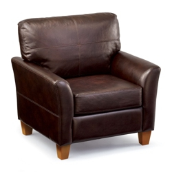 Denver Faux Leather Club Chair, 75763
