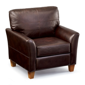 Denver Faux Leather Club Chair, 75763