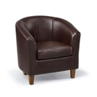 Chicago Faux Leather Club Chair, CD08253