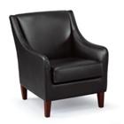 Charleston Faux Leather Club Chair, CD08251