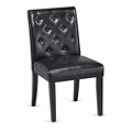 Roosevelt Tufted Faux Leather Armless Guest Chair, 76215