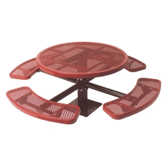 "46"" Round Surface Mount Outdoor Table, 91372"