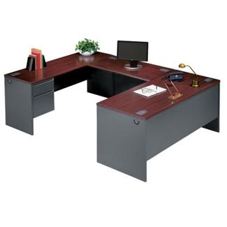 Steel U-Desk with Left Return, 11236