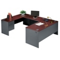 Steel U-Desk with Left Return, 11236