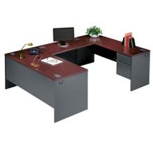 Steel U-Desk with Right Return, 11237