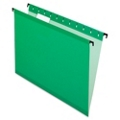 20 Polylaminate Letter Size Hanging File Folders, 92007