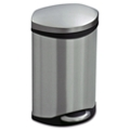 Stainless Steel Step-On Medical Waste Receptacle - 3 Gallon Capacity, 85917