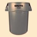 Vented Trash Receptacle - 44 Gallon Capacity, 85929