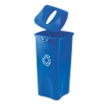 23-Gallon Recycling Receptacle with Paper Lid, 91041
