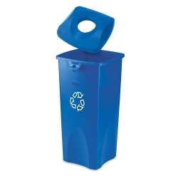 23-Gallon Recycling Receptacle with Can Lid, 91043