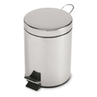 Stainless Steel Step Can Wastebasket, 91044
