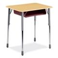 Adjustable Height Rectangular Desk, 11308