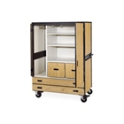 Mobile Wardrobe Cabinet with Storage, CD05793