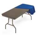 "Lightweight Rectangular Folding Table - 60"" x 30"", 41164"