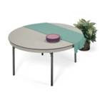 "Lightweight Round Folding Table - 72"" Diameter, CD05722"