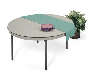 "Lightweight Round Folding Table - 72"" Diameter, 44172"