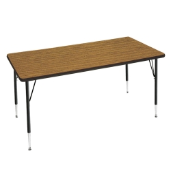 "Adjustable Height Utility Table 36"" x 72"", 41375"