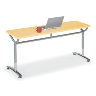 """Adjustable-Height Training Table 48""""W x 20""""D, 41424"""